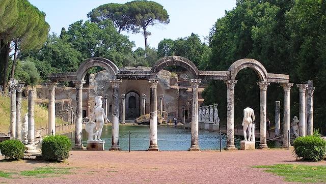 ninfeo Villa Adriana vicino Roma