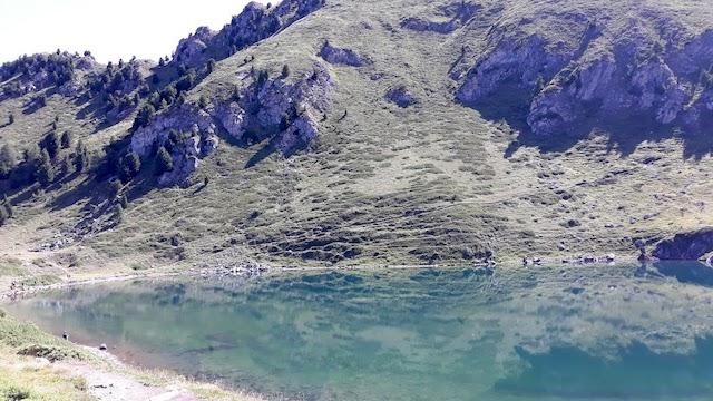 lago Chamolé Val d'Aosta
