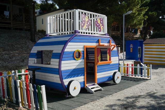 parco giochi camping Belvedere Trogir