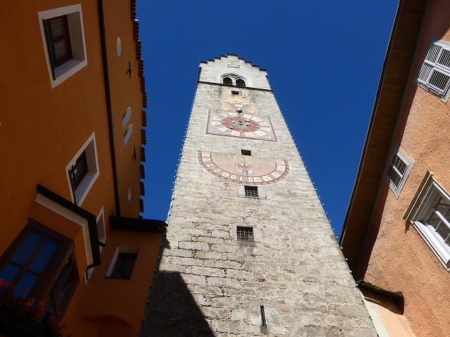 Vipiteno torre centro storico