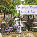 Tour in Olanda bicicletta e barca per famiglie con bambini