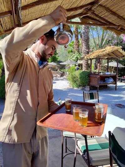 rito té in Marocco