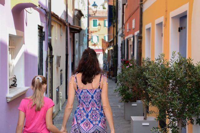 strade centro storico Caorle