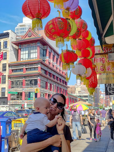 China Town tour con bambini