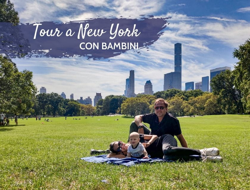 tour new york con bambini