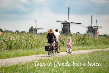 tour olanda bicicletta con bambini