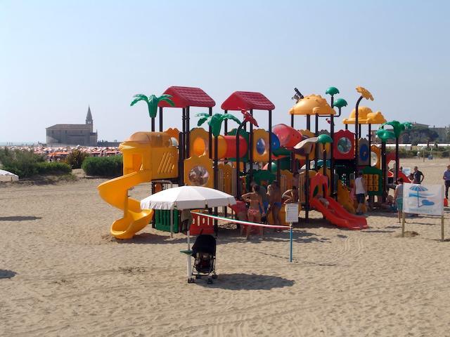 parco giochi spiaggia Caorle