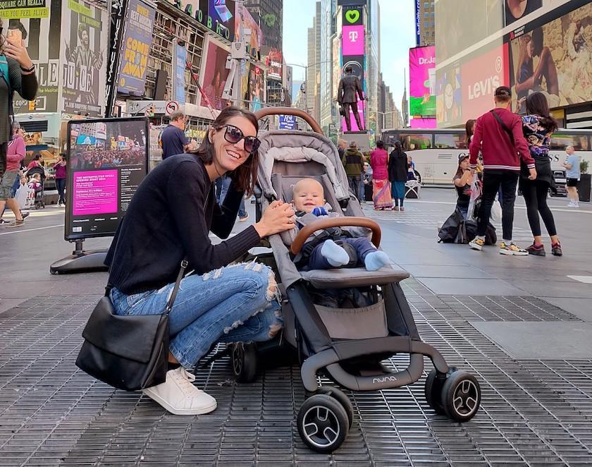 nuna passeggino NYC