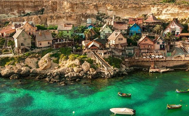 Villaggio Braccio Ferro Malta mete di primavera