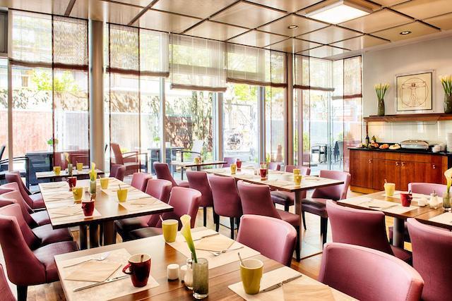 sala colazione hotel Monaco Baviera