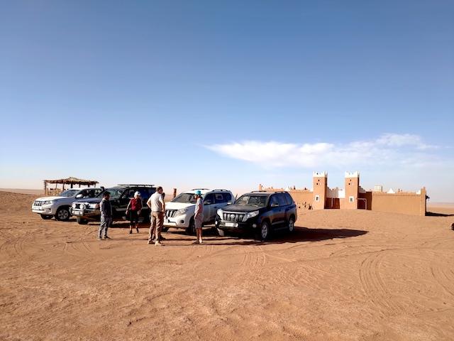 tappa nel deserto