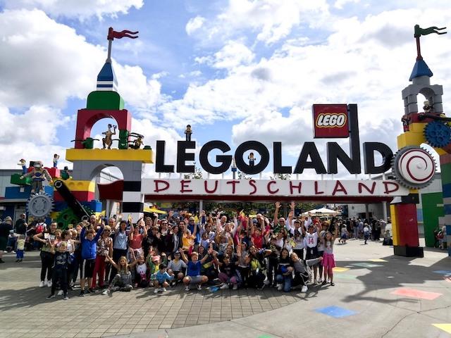 viaggio gruppo Legoland con bambini