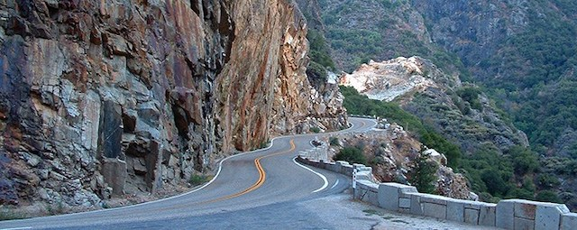 Kings Canyon Scenic Byway California