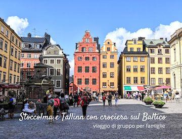 TOUR ORGANIZZATO STOCCOLMA CROCIERA BALTICO TALLINN
