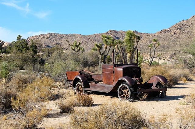 veicolo deserto