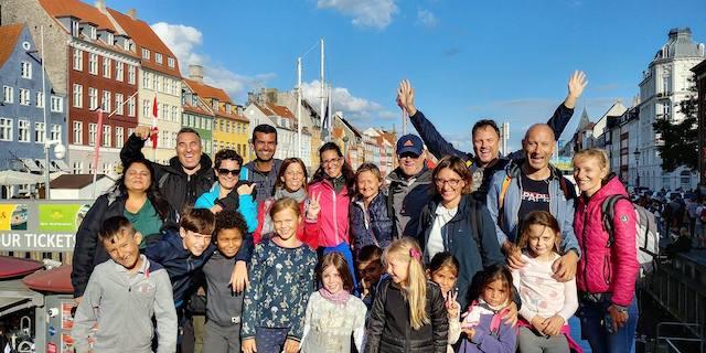 Tour Copenaghen con altri bambini