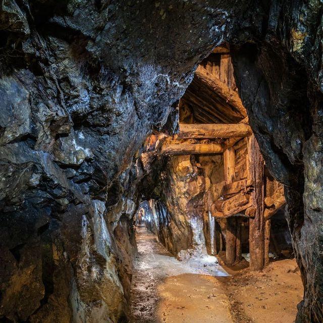 galleria miniera Villandro