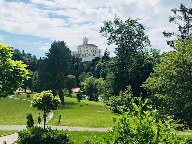 castello in Croazia Trakoscan
