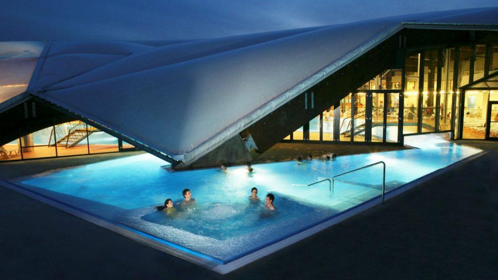 piscina esterna terme