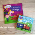 2 libri per bambini: Peppa Pig e Ben & Holly's Little Kingdom