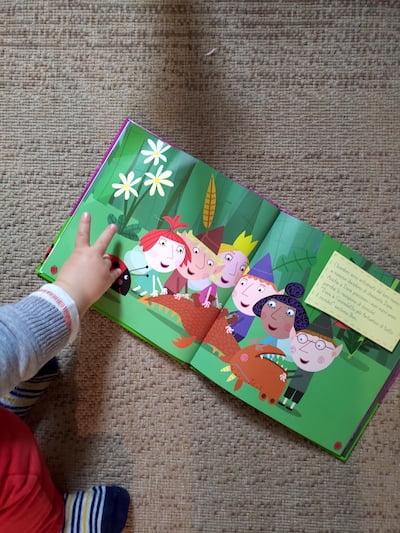 libro per bambini ben & holly