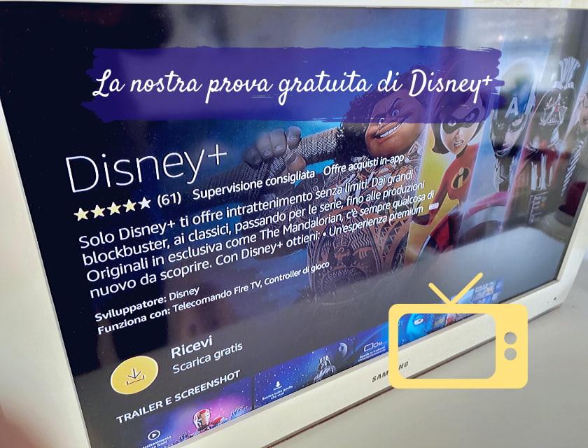 disney+ prova gratuita