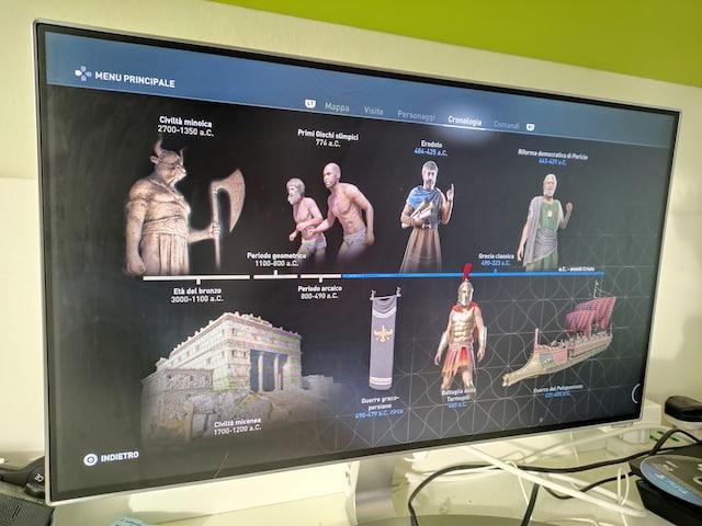 storia con videogame