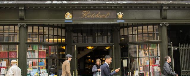 negozio libri Londra
