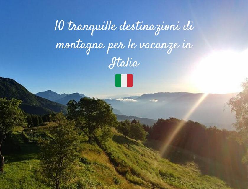 vacanze montagna Italia