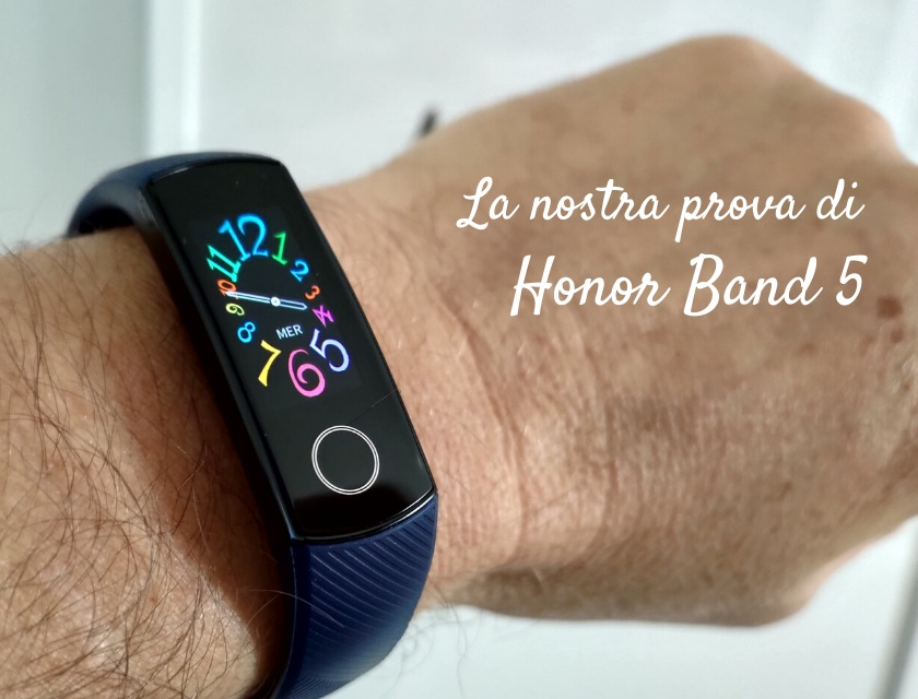 honor band 5 ossimetro