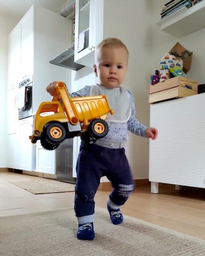 gioco camion ecologico