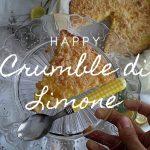 Crumble di limone, ricetta semplice