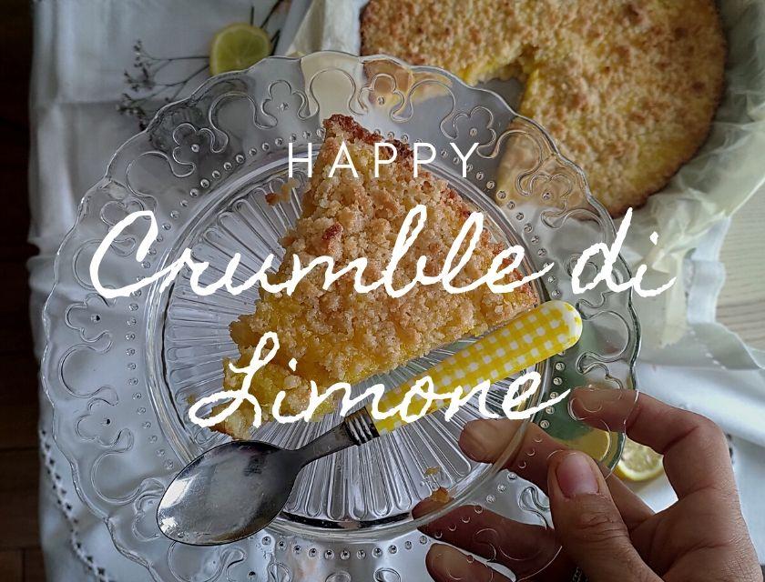 crumble di limone