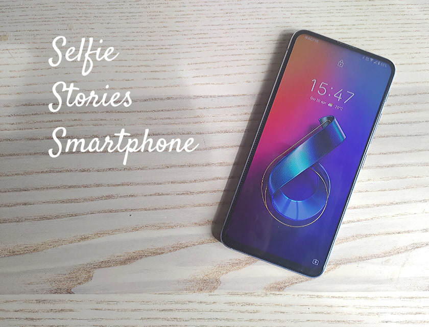 selfie IG stories smartphone