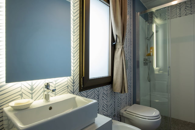 bagno casa mobile Adria Holiday