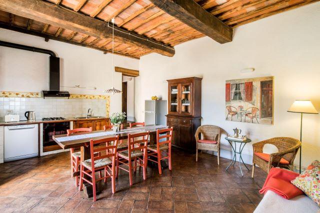 casa vacanze con cucina in Toscana