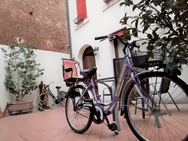 b&b Ferrara con bici