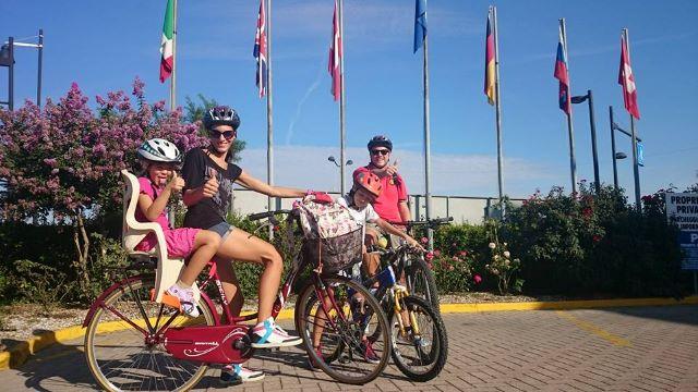 Caorle Chioggia family tour e-bike