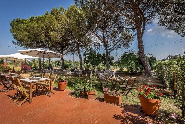 giardino esterno b&b Altopascio Lucca