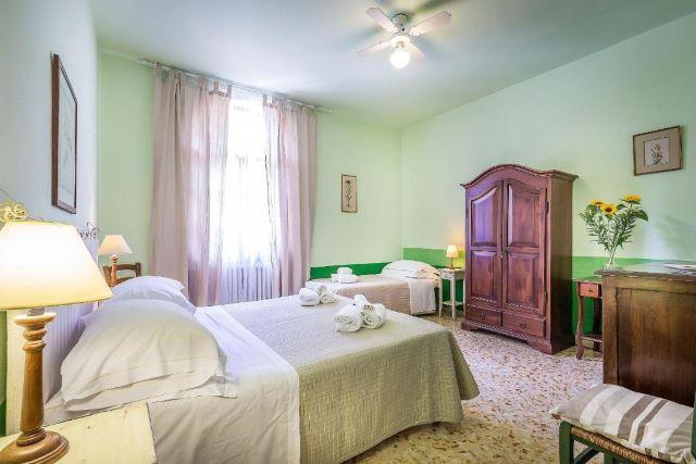 camera tripla b&b Lucca Altopascio per famiglie