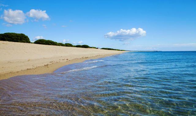 Marina di Orosei spiaggia di sabbia