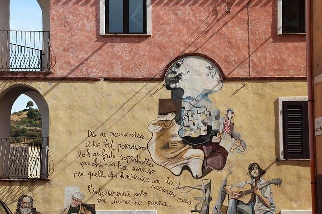 murales Orgosolo Sardegna