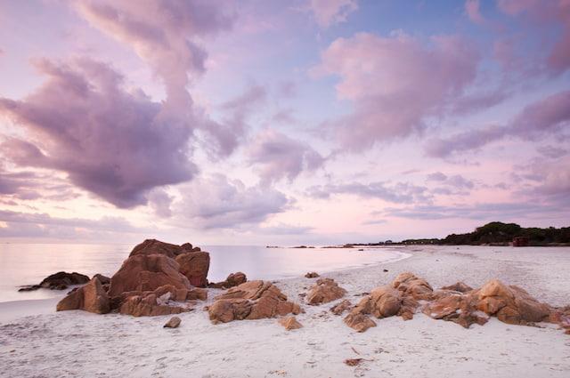 cala Ginepro spiaggia bianca