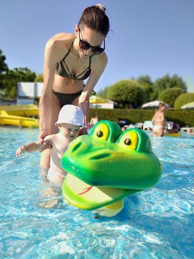 piscina bimbi piccoli camping a lazise