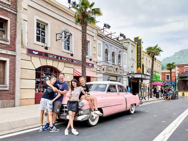 auto anni 50 a Movieland