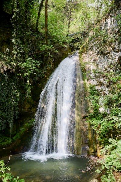 la cascate di Molina vacanze al Garda