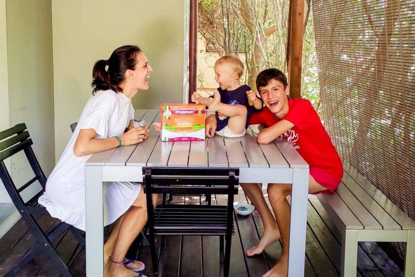 family in vacanza con bimbi