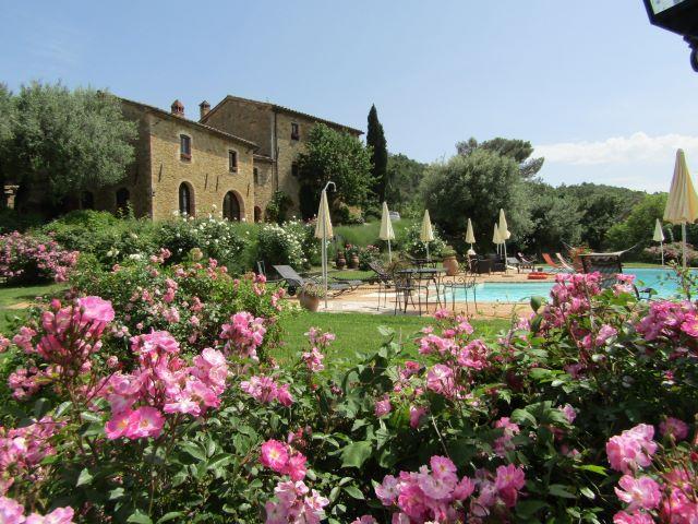 giardino e piscina Cantico della Natura