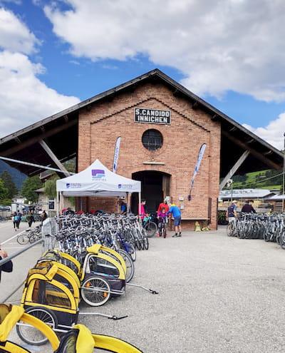 stazione noleggio bici a Innichen