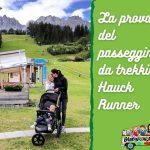 Hauck Runner: la prova del passeggino sportivo a 3 ruote da trekking